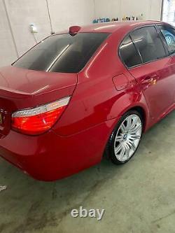 2009 BMW 520d LCI M Sport Business Edition (E60 Model) Very Rare Imola Red