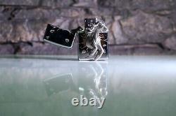 3d Galloping Horse Sculpture Zippo Lighter Very Rare Ltd Edition Of 1000