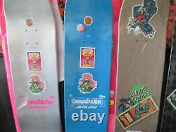 4 Nos Skateboards Decks Santa Cruz Creature Limited Edition Very Rare