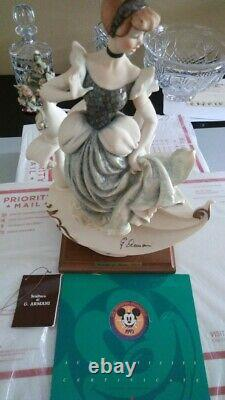Armani Cinderella Figurine 0783-c Limited Edition Very Rare