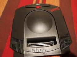 Atari Jaguar French version, no RF port, very rare model + controller + PSU