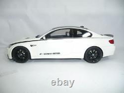 BMW M3 3er E92 COUPE CARBON EDITION WHITE 118 GT-SPIRIT ZM015 VERY RARE lim 504
