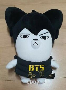 BTS official hiphop monster plush, hipmon doll, initial version JIN very RARE