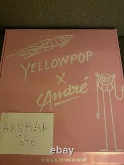Baron Andre Saraiva X Yellowpop Neon LED Limited Edition Lamp 80/100 Very Rare