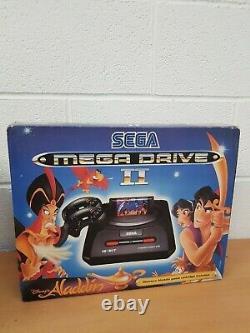 Boxed SEGA Mega Drive II Disney Aladdin Limited edition Console VERY RARE