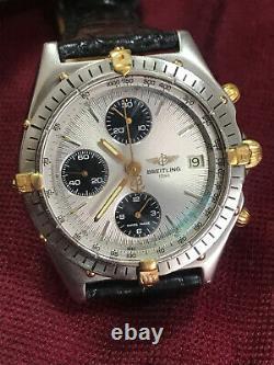 Breitling Chronomat acciaio oro quadrante panda 40mm, Very rare version, entra
