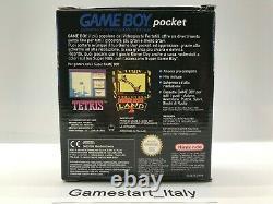 Console Game Boy Pocket Blue Pal Italian Version Gig Nuovo New Very Rare