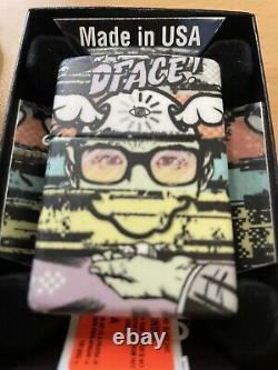 Dface art zippo Lighter Rare Very Limited Edition Brand New BANKSY GRAFFITI