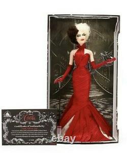Disney Limited Edition Cruella Doll New, Very Rare! In Hand