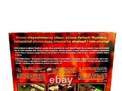 Fallout Tactics Pc Big Box Very Rare Collector's Edition Pl