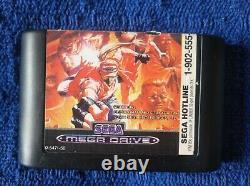Fatal Fury 2 Sega Mega Drive Genesis Pal Version Australian Very Rare