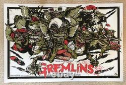 Gremlins Mondo Poster By Rhys Cooper Very Rare Limited Edition Screen Print