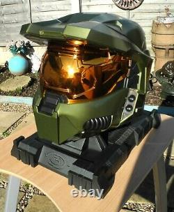 Halo 3 VERY RARE Legendary Edition Helmet with Cover Master Chief 117