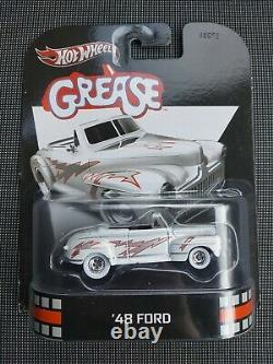 Hot Wheels Grease Lightning 48 Ford Very Rare mattel collector edition film car
