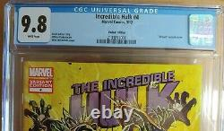 INCREDIBLE HULK 4 VERY RARE VENOM VARIANT 1 of 29 Blue Label CGC 9.8