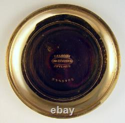 Illinois Bunn Special 24 Jewel 18s Very Rare Flag Variant Pocket Watch
