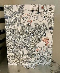 JAMES JEAN PARALLEL LIVES Book-Signed-Limited Edition-VERY RARE