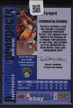 Kevin Durant Autograph RC 2007-08 SP Rookie Edition'96 INSERT AUTO VERY RARE