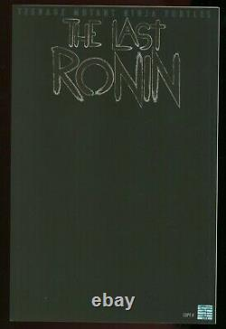 Last Ronin #1 Obscurity blank all black variant TMNT Very Rare Perfect NM/M 9.8