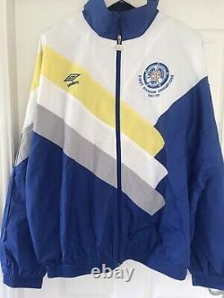 Leeds United 1992 Limited Edition First Division Champions Tracksuit Very Rare