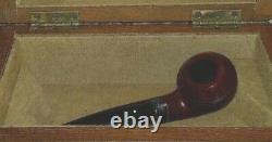 Limited Edition 1981 Christmas Pipe #020 by Dunhill VERY RARE NEVER USED
