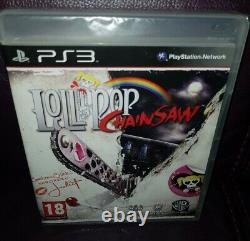 Lollipop Chainsaw. VERY RARE COVER VARIANT. BRAND NEW FACTORY SEALED. SONY PS3