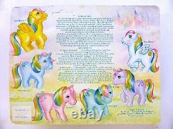 My little pony g1 VARIANT MOONSTONE MADE IN FRANCE MOC VERY RARE/STUNNING