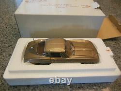 NIB Danbury Mint 124 Very Rare- 1964 Chevy Corvette Coup Limited Edition