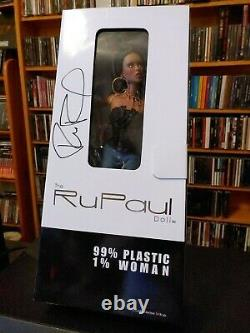 NIB Rupaul Doll Jason Wu Limited Edition AUTOGRAPHED VERY RARE! Ru-mix Brunette