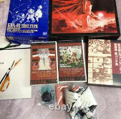 Neon Genesis Evangelion Movie Box First Limited Edition VHS very rare japan F/S