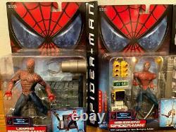 New Movie Version Spider Man American Comics Figure 11 Species Set Very Rare
