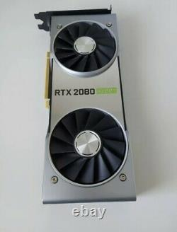 Nvidia Geforce RTX 2080 Super Founders Edition Graphics Card Very Rare
