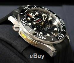 Omega Seamaster Diver 300M James Bond 007 Limited Edition Black JPN JP Very Rare