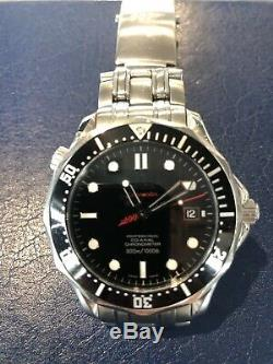 Omega Seamaster Watch, Very Rare 007 Special Edition, Collectors Watch