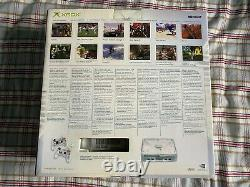 Original Xbox Crystal Pack Limited Edition 2004 Very Rare Collectible