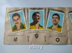 Pele Rookie 1958 Aquarela Álbum First Edition Complete Very Rare
