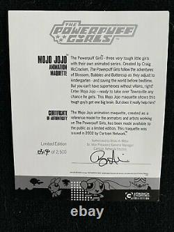 Powerpuff Girls Mojo Jojo Maquette Statue Figure Limited Edition Very Rare