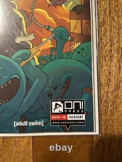 Rick and Morty comic #1 Books-A-Million exclusive Variant first print VERY RARE