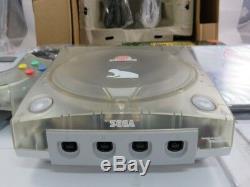 SEGA Dreamcast SEAMAN Clear Limited Edition 500ex. Japan very rare near mint