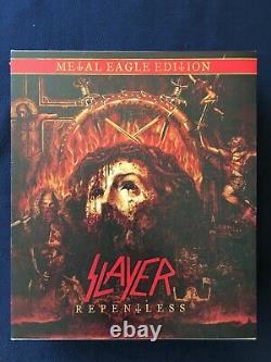 SLAYER Repentless Metal Eagle Edition very rare Kerry King Thrash Speed Metal