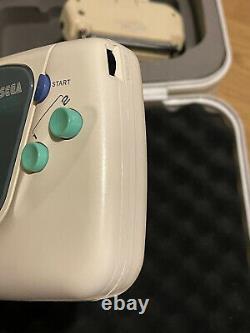 Sega Game Gear White Complete Edition Very Rare, Collectors