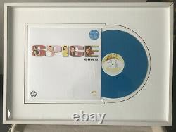 Spice girls unicef nr. Edition blue vinyl very rare (one of 50 copies)