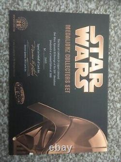 Star Wars Revenge Of The Sith Medalionz Limited Edition Copper VERY RARE