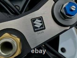 Suzuki gsxr 750 Limited Edition Anniversary 4/25 Very Rare 2010