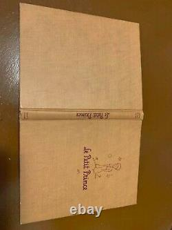 The Little Prince 1st Print/ 1st Edition (VERY RARE)