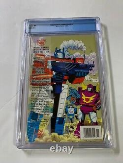Transformers Generation 2 # 1 Cgc 9.8 Newsstand Edition Very Rare Marvel