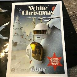 VERY RARE Daft Punk Limited Edition Ornament Set White Christmas