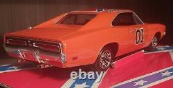VERY RARE Dukes of Hazzard General Lee 118 1st Edition FLORIDA License Plate