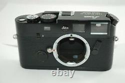 VERY RARELeica M6 TTL LHSA 0.72 Black Paint Special Edition #4336