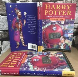 Very RARE 1st Edition 2nd Print The Philosophers Stone Harry Potter Hardback